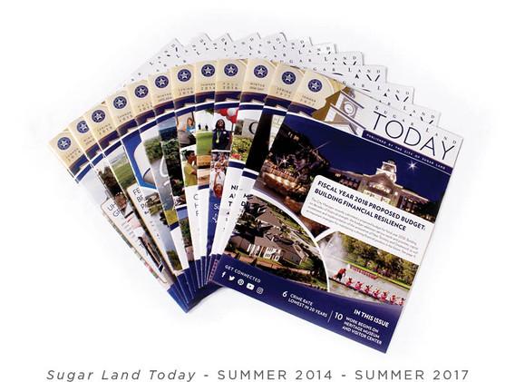 Newsletter Covers (Summer 2014 - Summer 2017)