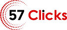 57 clicks logo