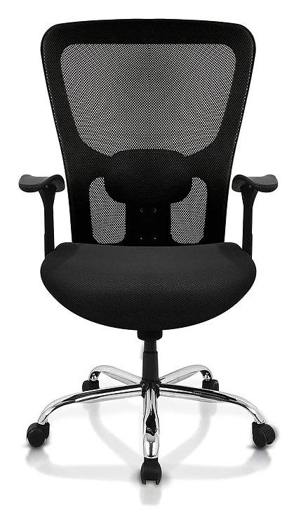 Beatle Medium Back office chair with chrome base