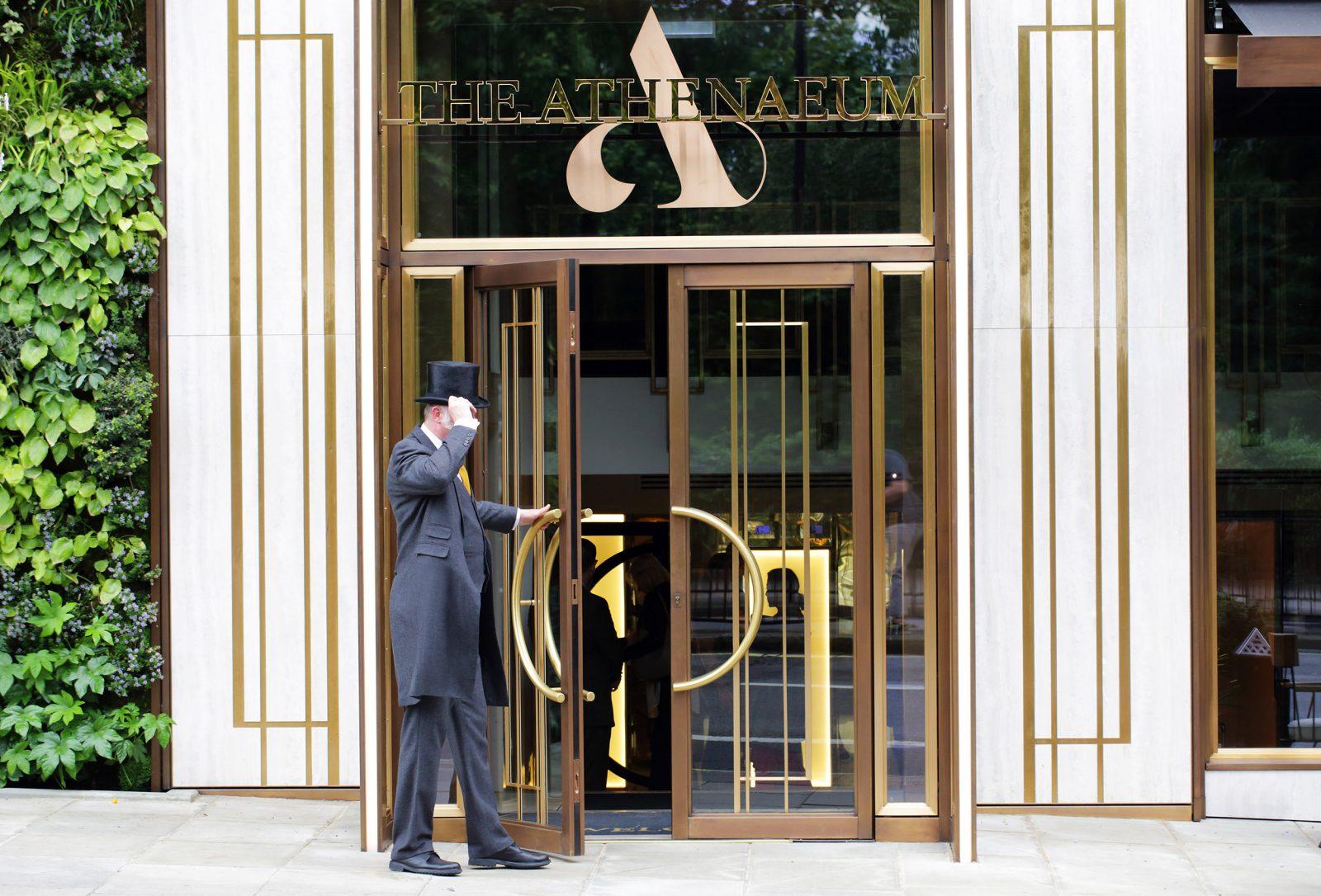 Athenaeum Entrance