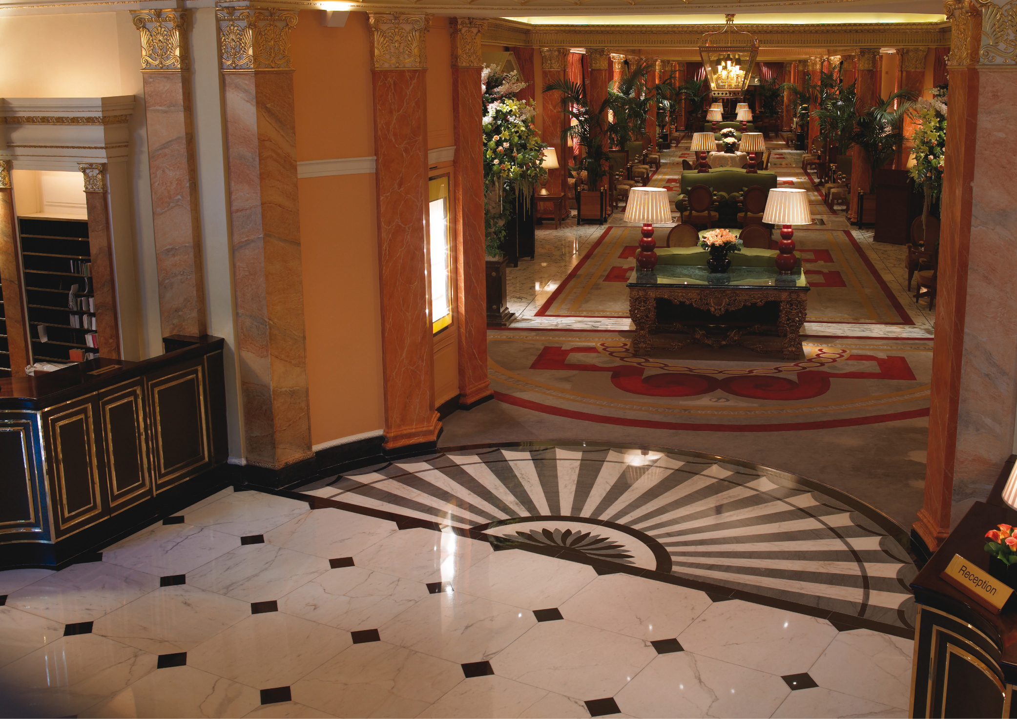 The Dorchester Lobby