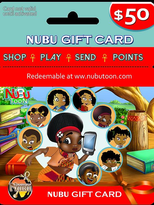 Nubu Gift Card