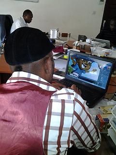 Ramus Ankh Designing the Nubu Characters