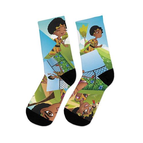 NUBU NAKI DTG Socks