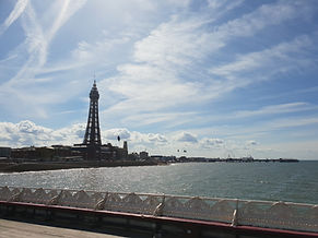 Beautiful view of blackpool