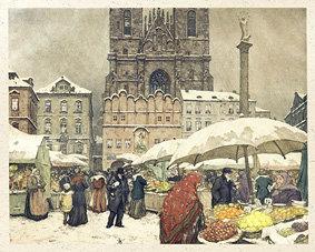 Magnet - Mikulášský trh na Staroměstském náměstí