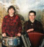 Stéphanie et Dominique en 2001