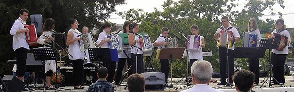 avec l'école de musique de Corinne Lefrère
