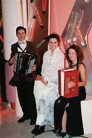 avec Domi Emorine et Sandra J.