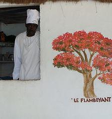 Restaurant le Flamboyant à Cachouane