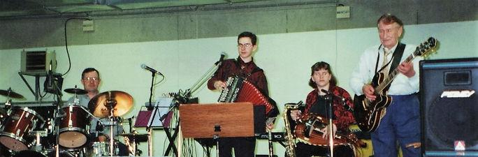 Michel, Dominique, Stéphanie Floquet et Jean Garsault à Bourges en 2000