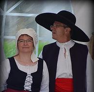 Cathy et François, la Charraud