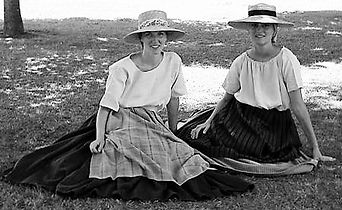 Nathalie et Laurene, la Charraud