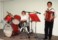 Domi et Steph en 1995 à St-Hilaire-en-Lignières