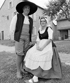 Christian Menut et Catherine Perrin