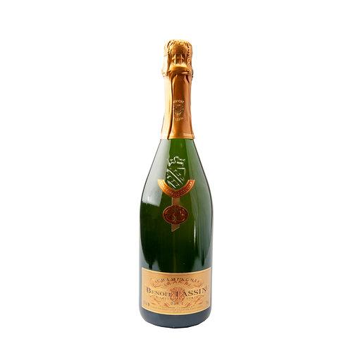 FW059 Champagne Benoit Tassin Brut NV Cuvee Blanc de Noirs Brut