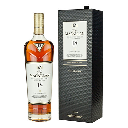 SP024The Macallan 18 Year Old Sherry Oak