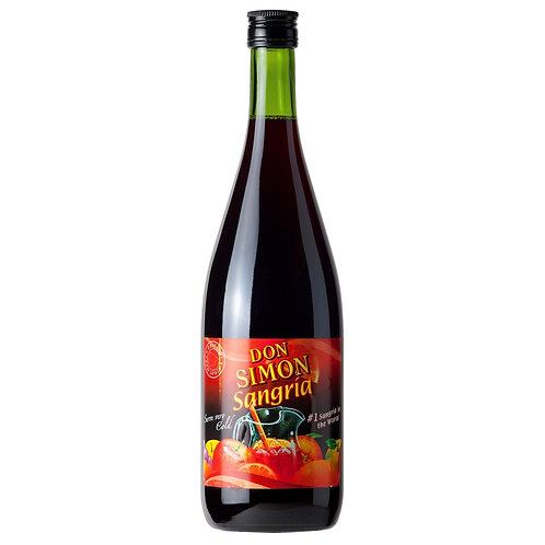 SW023	 SANGRIA DON SIMON TINTO BOTTLE 7%
