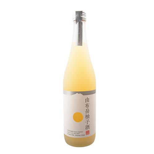 JW042 由布岳 柚子酒 7%  720ml