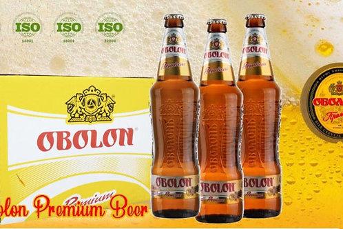 UKB001 Ukraine Obolon Premium Beer 500ml X 100BTLS