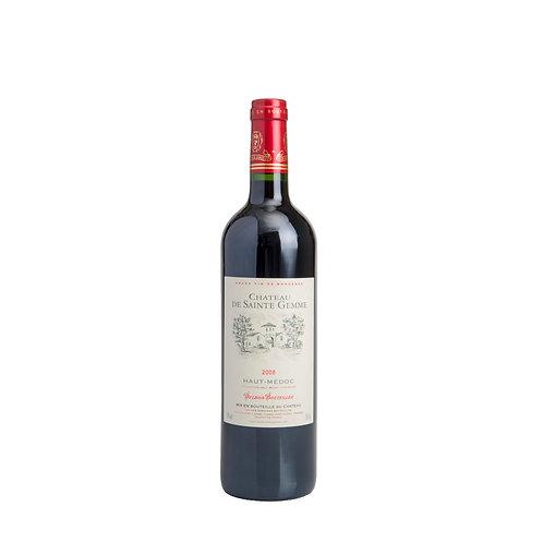 FR025 Chateau de Sainte Gemme Haut Medoc 2008 聖伽美酒莊 13%