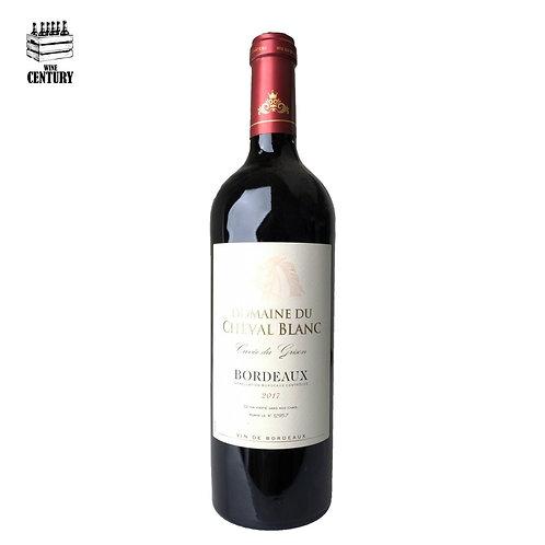 FR623Domaine du Cheval Blanc Cuvee Grison AOC Bordeaux 2017 (Heavy bottle)