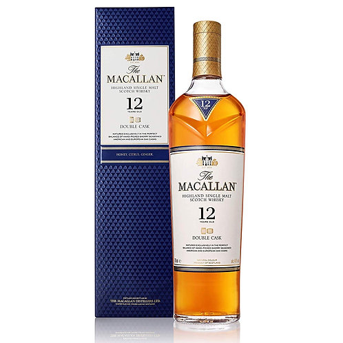 SP021	The Macallan 12 Years Double Cask Single Malt Whisky