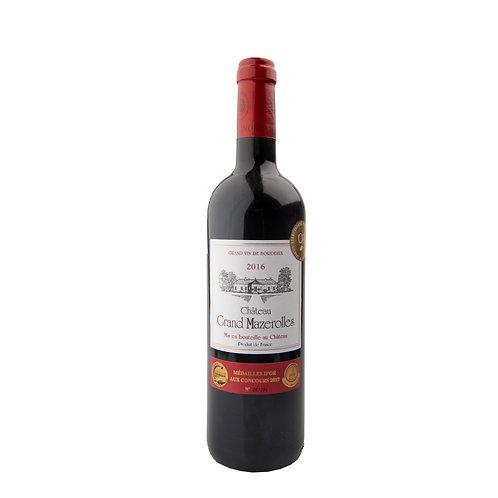 FR319 Chateau Grand Mazerolles AOC Blaye Cotes de Bordeaux 2016 13.5%