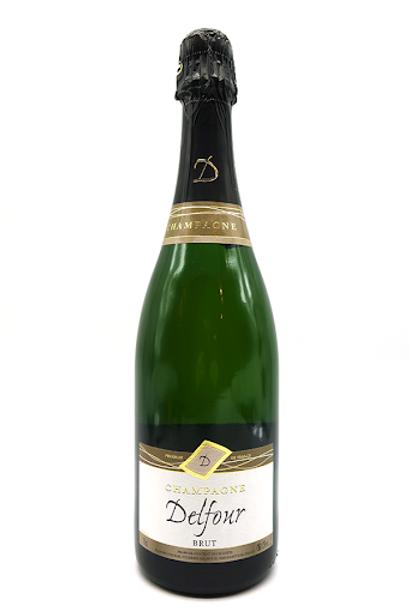 FW142 champagne delfour, white brut, NV