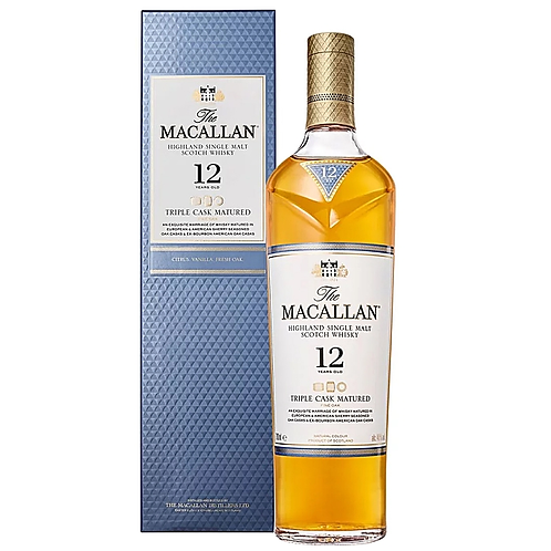 SP022	The Macallan 12 Year Old Triple Cask Matured