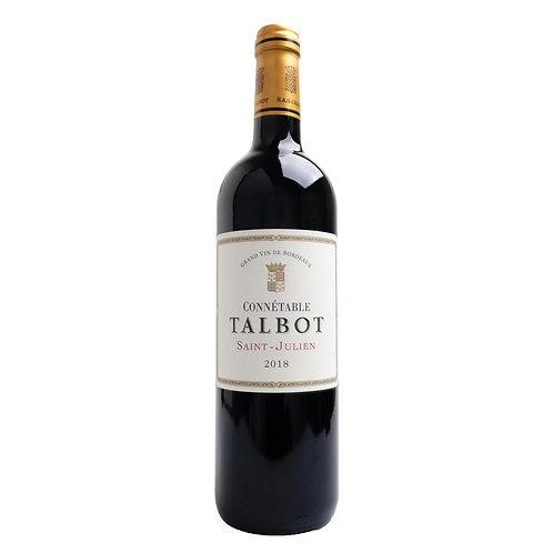 FR749Connetable de Talbot 2018 Saint-Julien Rouge