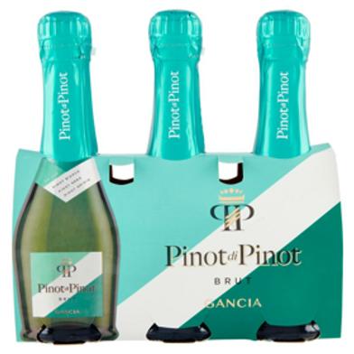 IW078GANCIA F.PINOT DI PINOT VINO SPUMANTE PINOT BRUT BIANCO X 200ML