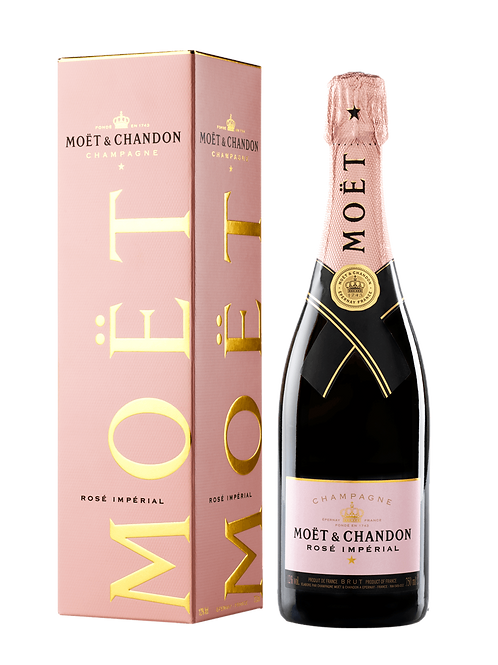 FW149 Champagne Moet & Chandon Rose Imperial NV