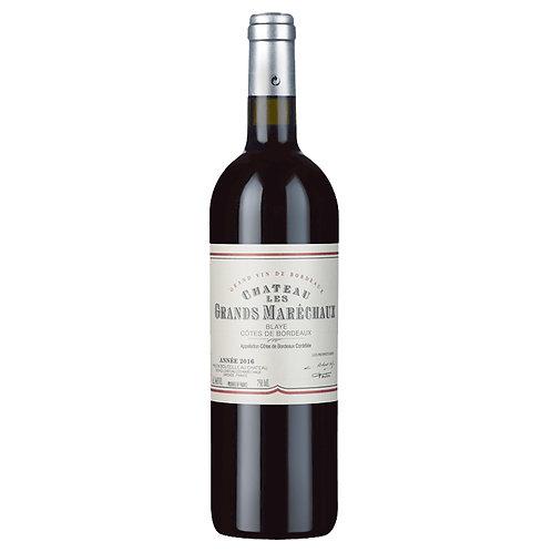 FR687  Chateau Les Grands Marechaux AOC Blaye Cotes de Bordeaux 2016