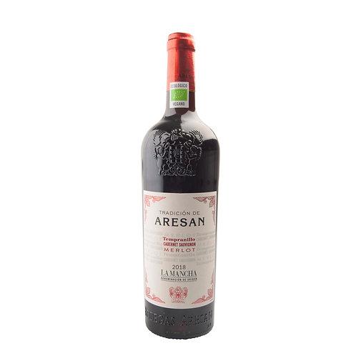 SR014 Aresan Tempranillo cabernet sauvignon merlot 2018