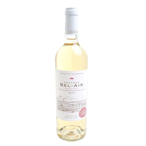 FW191GRAND Vin De Château BEL-AIR Bordeaux Blanc 2018