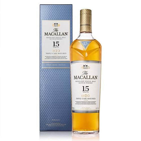 SP023The Macallan 15 Years Old Triple Cask Matured