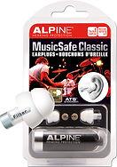 MusicSafe Classic earplugs