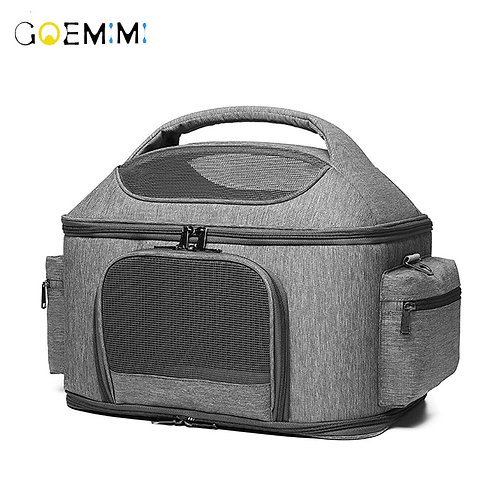 Basket Dog Seat Soft Side Carrier Pet Travel Protector Dog Bags for Small Dog