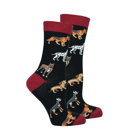 Women's Dog Species Socks