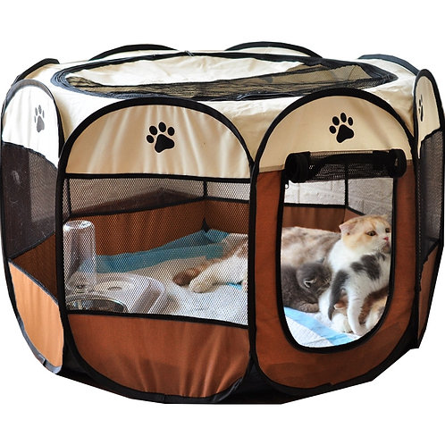 Dog Cage Houses for Foldable Indoor Playpen Puppy Cats Pet Dog Bed Tent