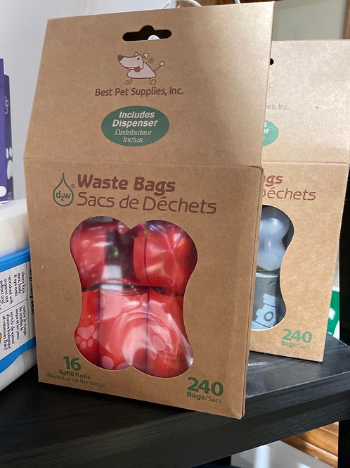 Waste bags 240 ct