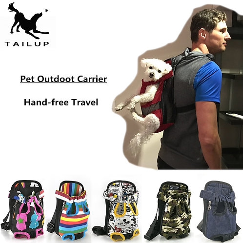 Dog Bag Backpack Breathable Pet Bag Pet Puppy Carrier Christmas Gifts PY0002