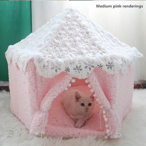 Outdoor Dog Bed Kennels Fences Pet Tent Houses Foldable Indoor Puppy Cat Cage