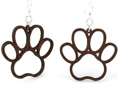 Dog Paw Earrings # 1018