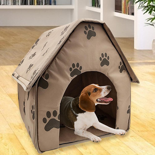 Foldable Dog House Small Footprint Pet Bed Tent Cat Kennel Travel Dog Accessory