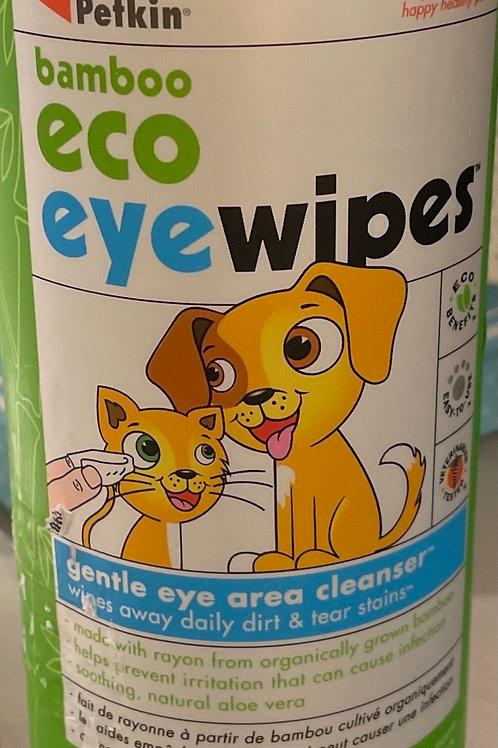 Eco eye wipes