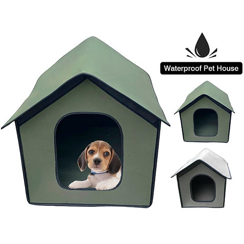 Tent Cabin Foldable Pet Shelter Portable Pets Cat Dog House Tent New