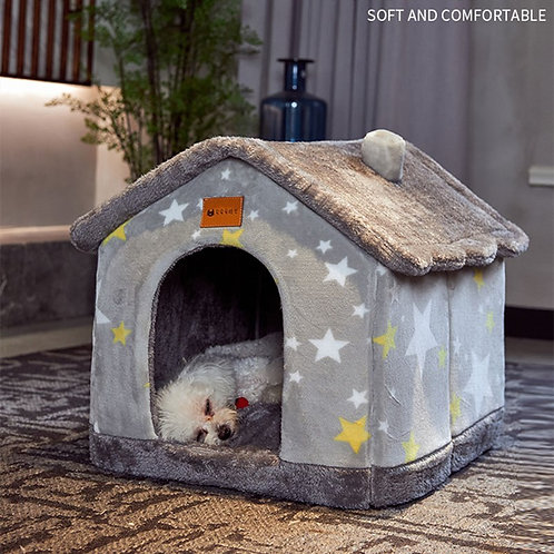 Cat Bed All Seasons Universal Removable and Washable Dog House Bed Pet Supplie