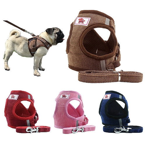 Dog Collar Vest Harness for Dog Puppy Pet Chihuahua Chest Strap Dog Accessories